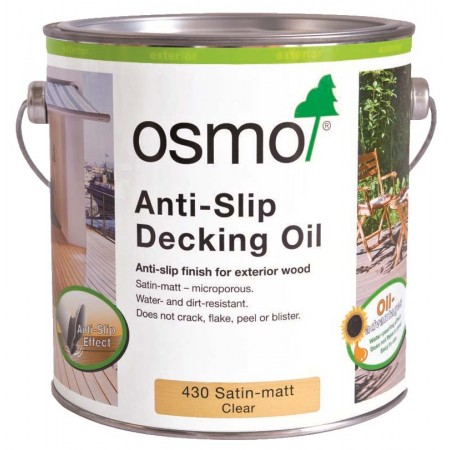 Osmo Anti-Slip Decking Oil Clear 430