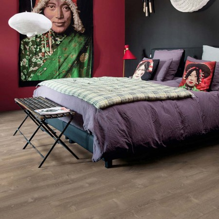 Quick-Step Livyn Pulse Click + Sand Storm Oak Brown PUCP40086 Vinyl Flooring