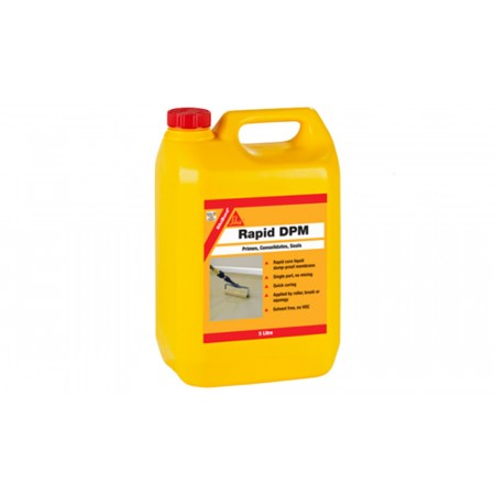 Sika Rapid Liquid DPM (Damp Proof Membrane) 5ltr