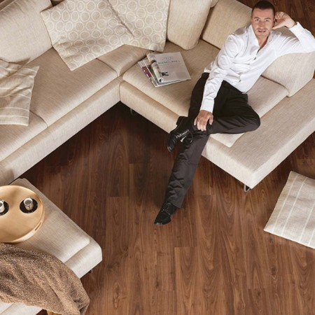 Quick-Step Eligna Oiled Walnut Planks U1043 Laminate Flooring