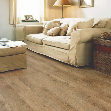 Quick-Step Eligna Old Oak Matt Oiled Planks U312 Laminate Flooring