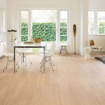 Quick-Step Perspective Wide Oak White Oiled Planks 2 Groove ULW1538 Laminate Flooring