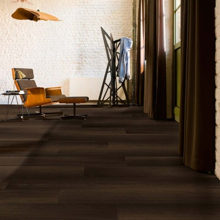 Quick-Step Perspective Wide Fumed Oak Dark Planks 2 Groove ULW1540 Laminate Flooring