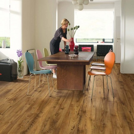 Quick-Step Eligna Wide Reclaimed Chestnut Antique Planks UW1543 Laminate Flooring