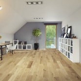 150mm Brushed & UV Oiled Engineered Natural Charnwood Oak Click Wood Flooring 1.08m²
