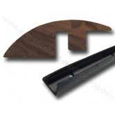 Walnut Ramp Door Bar 1.8m