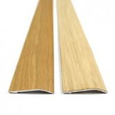 Self adhesive Oak Veneered aluminium door bar threshold adjustable ramp
