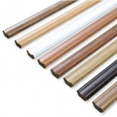 Laminated MDF Scotia Beading 2.4m in Multiple Colours