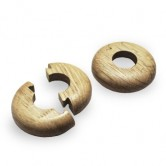 Natural Oak Pipe Cover x 2