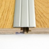 Self adhesive aluminium door bar threshold cover strip