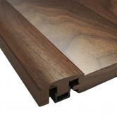 Walnut End Cap Door Bar Threshold Pre-Finished