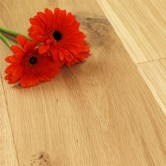 220mm Unfinished Engineered Foxton Oak Wood Flooring 1.936m²