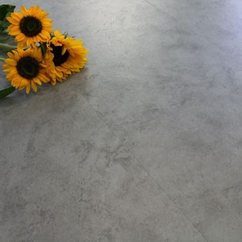 Steel Grey Concrete Luxury Vinyl Click Flooring 2.16m²