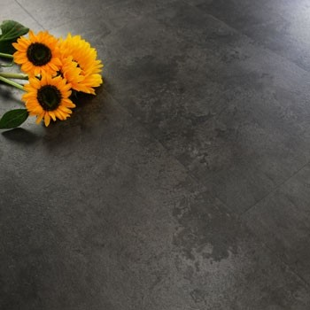 Midnight Grey Concrete Luxury Vinyl Click Flooring 2.16m²