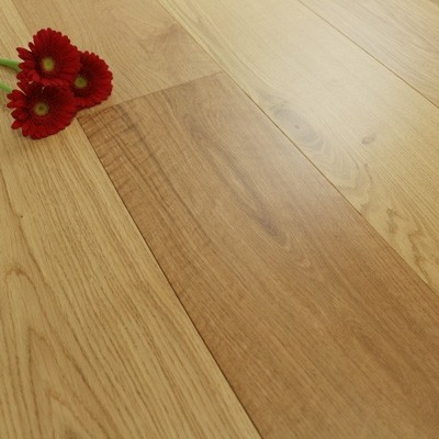 190mm Matt Lacquered Engineered Select Oak Wood Flooring 2.166m²