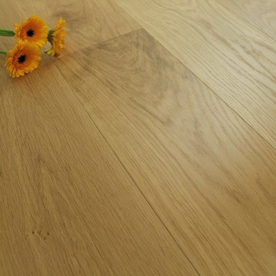 190mm UV Oiled Engineered Select Oak Wood Flooring 2.166m²
