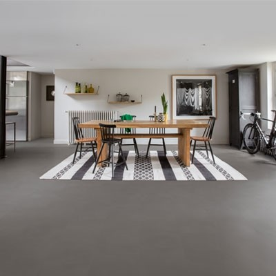 Quick-Step Livyn Ambient Click Minimal Medium Grey AMCL40140 Vinyl Flooring