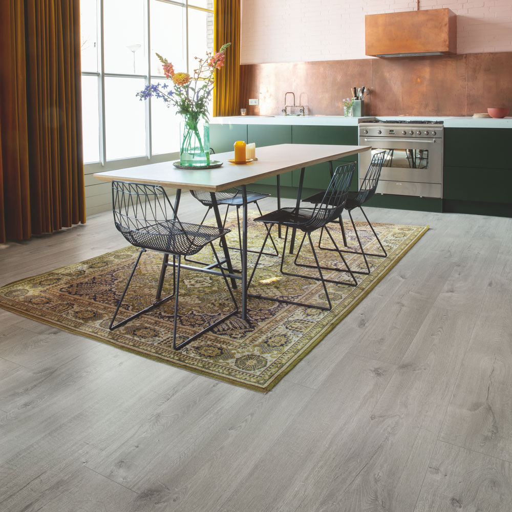 Quick-Step Alpha Vinyl Medium Planks Cotton Oak Cold Grey AVMP40201 Vinyl Flooring
