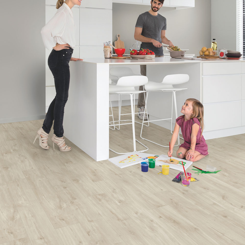Quick-Step Alpha Vinyl Small Planks Canyon Oak Beige AVSP40038 Vinyl Flooring