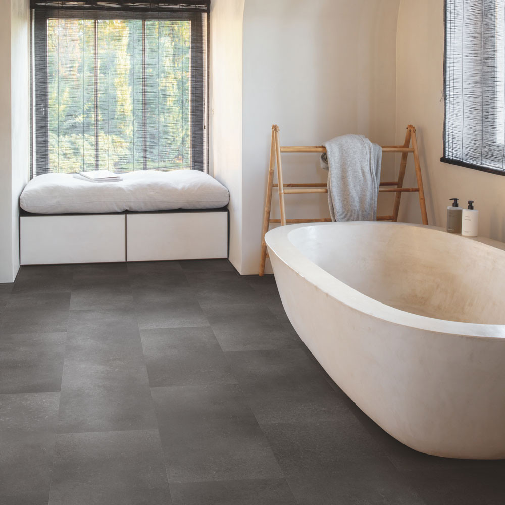 Quick-Step Alpha Vinyl Tiles Volcanic Rock AVST40231 Vinyl Flooring