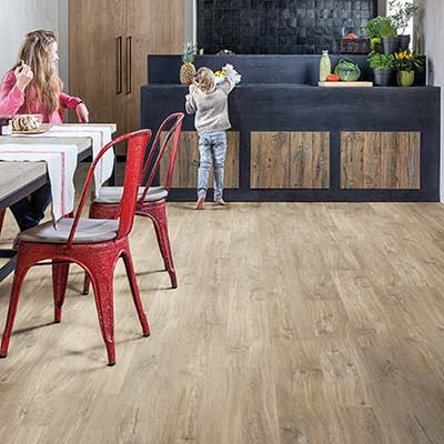 Quick-Step Livyn Balance Click + Canyon Oak Light Brown with Saw Cuts BACP40031 Vinyl Flooring