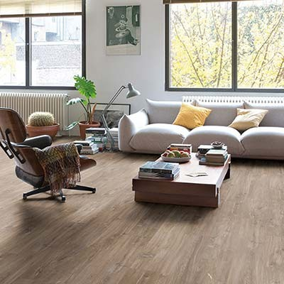 Quick-Step Livyn Balance Click Canyon Oak Dark Brown/Saw Cuts BACL40059 Vinyl Flooring