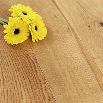 125mm Brushed & Oiled Engineered Rutland Oak Wood Flooring 1.2m²