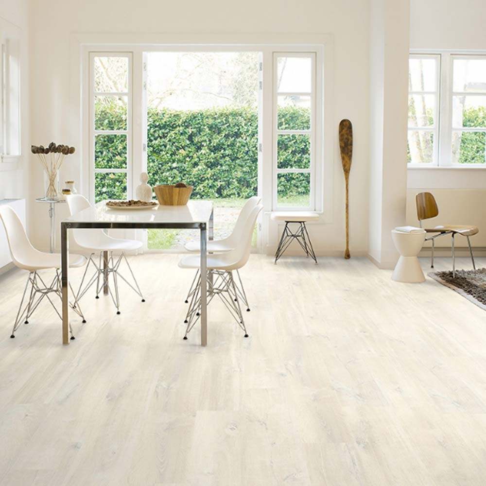 Quick-Step Creo Charlotte Oak White CR3178 Laminate Flooring