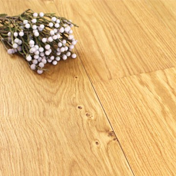189mm Oiled Engineered Oakham Oak Wood Flooring 1.663m²