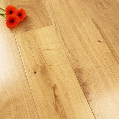 189mm Lacquered Engineered Oak 20mm Wood Flooring 2.11m²