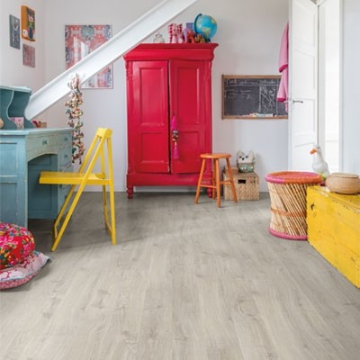 Quick-Step Eligna Newcastle Oak Grey Planks EL3580 Laminate Flooring
