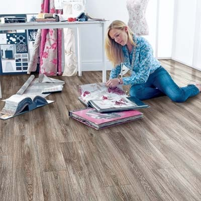 Elka 12mm Weathered Oak ELT019 Laminate Flooring