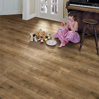 Elka 8mm Smoked Oak ELV225AP Aqua Protect Laminate Flooring