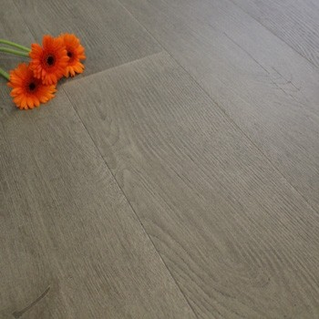 190mm Brushed & Oiled Engineered Storm Grey Oak Click Wood Flooring 2.075m²