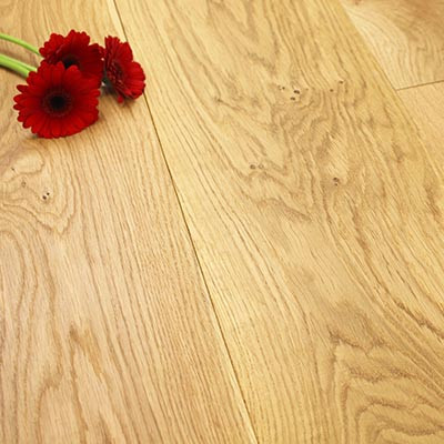 240mm Oiled Engineered Rustic Oak Wood Flooring 2.11m²