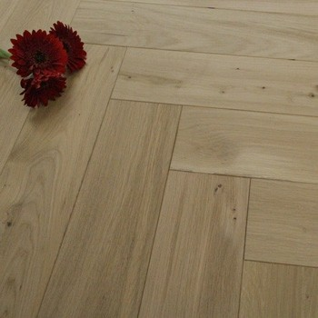 120mm Engineered Unfinished Parquet Block Oak Wood Flooring 1.44m²