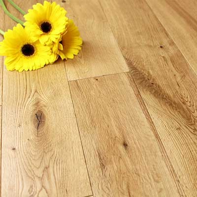 125mm Brushed & Oiled Solid Oak Wood Flooring 2.20m²