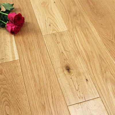 125mm Lacquered Engineered Oak 18/5mm Wood Flooring 2.20m²