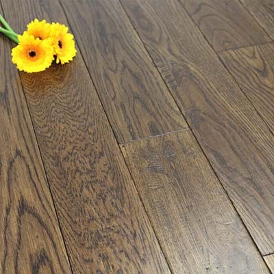 125mm Lacquered Engineered Antique Oak Wood Flooring 2.75m²