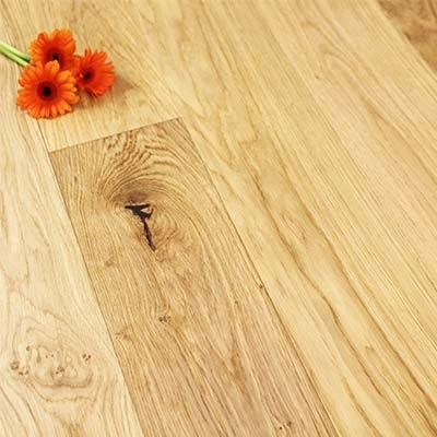 148mm Brushed & UV Oiled Engineered Oak Click Wood Flooring 2.2m²