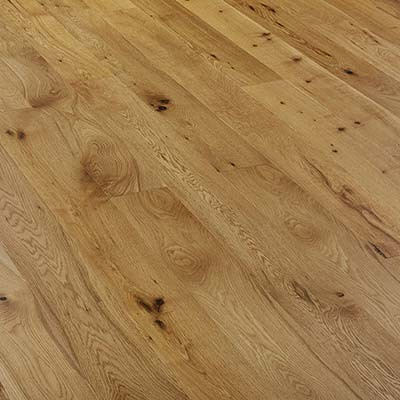 150mm Brushed & UV Oiled Engineered Rustic Oak Wood Flooring 1.71m²