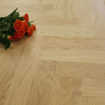 70mm Unfinished Prime Parquet Block Solid Oak Wood Flooring 1.47m²