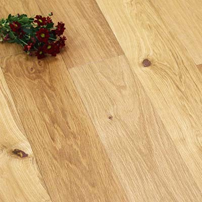 150mm UV Oiled Engineered Rustic Oak Wood Flooring 2.64m²