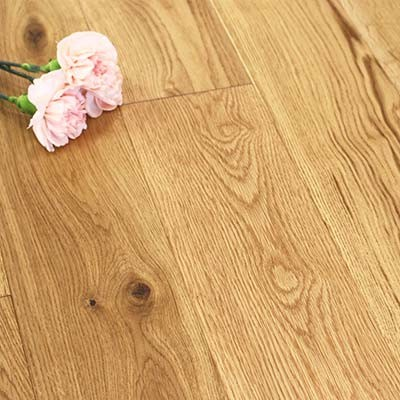 125mm Brushed & Oiled Engineered Charnwood Oak Wood Flooring 2.2m²