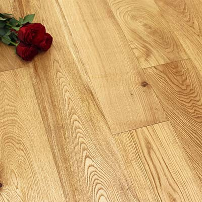 150mm Brushed & Oiled Engineered Charnwood Oak Click Wood Flooring 2.64m²