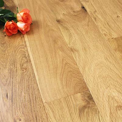 150mm Brushed & Oiled Engineered Charnwood Oak Wood Flooring 1.71m²