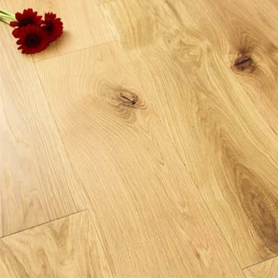 190mm UV Oiled Engineered Oak 20mm Wood Flooring 2.09m²