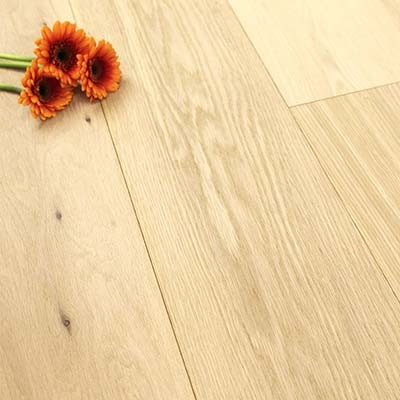 189mm Unfinished Engineered Oak Wood Flooring 2.81m²