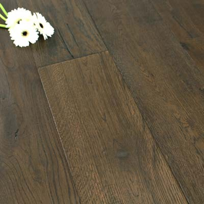 190mm Brushed & UV Oiled Engineered Weathered Antique Oak Click 2.89m²