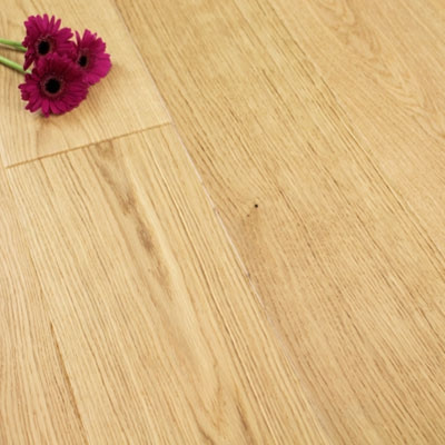 180mm Matt Lacquered Engineered Select Oak Click Wood Flooring 2.77m²